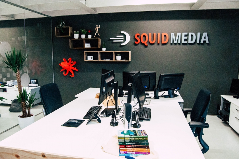Kantoor SQUID Media Kieler Bocht 15E